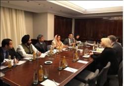 Hon'ble Union Minister FPI Smt. Harsimrat Kaur Badal holding meetings