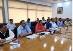 Hon'ble Union Minister FPI Smt. Harsimrat Kaur Badal inaugurated IIFPT sponsored Common Food Processing Incubation Centre at Chettikulam 2017