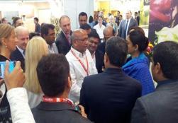 Honb'le Minister Smt. Harsimrat Kaur Badal at the Inauguration visit to Anuga Trade Fair 2015, Germany.-15/10/2015 - Image 4
