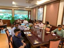 Union Minister Shri Pashupati kumar Paras, in the presence of MoS Shri Prahlad Singh Patel, chaired a review meeting on the Ministry's Sampada Portal & e-Samiksha.